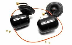 06 BMW X5 E53 REAR SUSPENSION AIR ACCUMULATOR TANK RESERVOIR SET