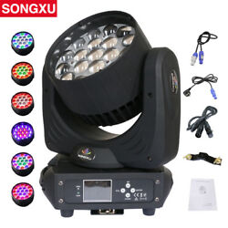 Songxu 19x15w Zoom Wash Led Moving Head Light Rgbw 4in1 Led Washer Mh1915a