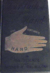 Hand Reading Palmistry Fortune Telling Soul Spirit Destiny Luck Science Occult X