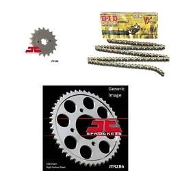 530vx Chain Natural Front And Rear Sprocket Kit For Street Honda Cb750 1972-1976