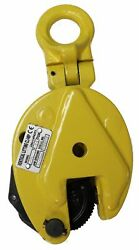 New V-lift Industrial Vertical Plate Lifting Clamp Steel 11023 Lbs Wll