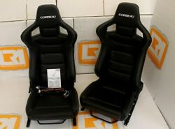 White stitch low base heated bucket pair of seats Fit Land Rover Defender 90110