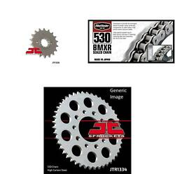 530 Bmxr Chain Natural Front And Rear Sprocket Kit For Honda Vf750f 1983-1984