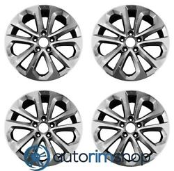 New 18 Replacement Wheels Rims For Honda Accord 2013-2015 Set
