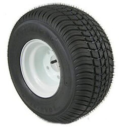 American Tire 3h270 215/60-8 Tire And Wheel 5 Hole B White