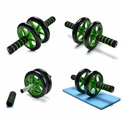 Ab Roller 3 in 1 Wheel Kit Pro Resistant Odoland Band Knee Pad Abdominal Workout