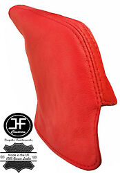 Red Real Leather E Brake Boot Fits Toyota Lexus Soarer Sc 300 90-00
