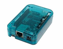 NEW! Case for BeagleBone Black Transparent (Blue) assemble in 30 seconds by S...