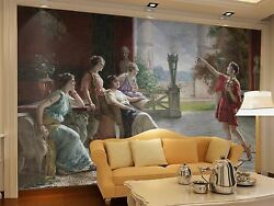 3d The Women Looked 266 Wall Paper Wall Print Decal Wall Indoor Murals Wall Us