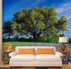 3d Big Tree Flowers 2567 Wall Paper Wall Print Decal Wall Indoor Murals Wall Us