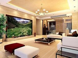 3d Hills Green Leaves 266 Wall Paper Wall Print Decal Wall Indoor Murals Wall Us