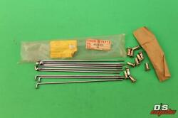 Nos Kawasaki Outer Spoke Assembly Qty 9 71 F6 71 And 74-75 F7 75 Kt250 41028-031