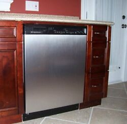 Magnet Dishwasher Cover Appliance Easy Clean Smudge Resistant