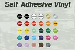 Sign Vinyl Decals/lettering/graphics Self-adhesive Backed 24x 10y