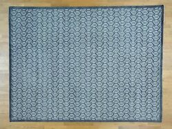 9and039x12and039 Paisley Design Turkish Knot Pure Wool Hand Knotted Oriental Rug R28641