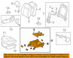 TOYOTA OEM 12-14 Camry Passenger-Seat Adjust Assembly Right 7111006121