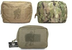 Grey Ghost Gear 7.5x10 Molle Utility Pouch - Black Coyote Brown Or Multicam