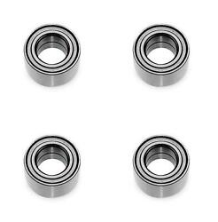 Front And Rear Wheel Bearing Kits For Can-am Outlander Max 800r Xt 4x4 2009-2014