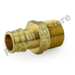 25 1 Pex X 1 Male Threaded F1960 Expansion Adapter Fittings, Lead-free Brass