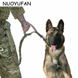 Army Tactical Dog Collars Waterproof Dog Leash Quick Release Heavy Duty Panic Ad