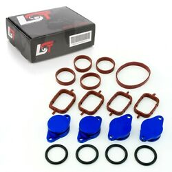 32mm BLUE ALUMINIUM SWIRL FLAP REPLACEMENT SET + O-RING FOR BMW X6 NEW