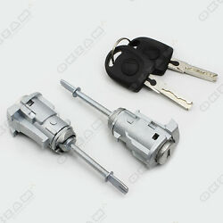 Door Lock Key And Barrel Set Front Left And Right For Seat Cordoba 6l2 New