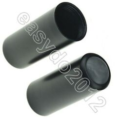 2pcs Mic Battery Cap Cup Cover Screw On For Shure Pgx2 Slx2 Wireless Microphones