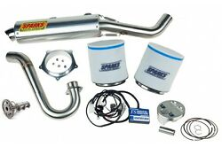 Sparks Racing Stage 2 Power Kit Ss Race Core Exhaust Yamaha Yfz450x