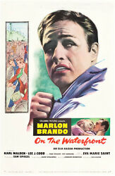 On The Waterfront Original Vintage Movie Poster One Sheet