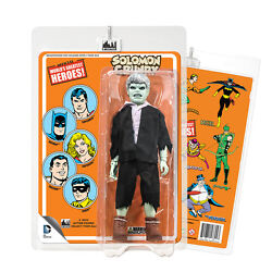 Official Dc Comics Solomon Grundy 8 Inch Action Figure On Retro Style Retro Card