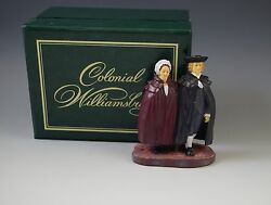 Mib Colonial Williamsburg Winter Couple Lang And Wise 1998