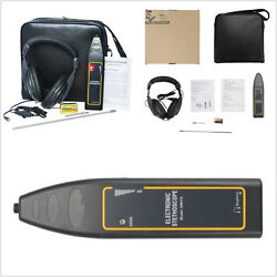 Car Noise Finder Electronic Stethoscope + Earphone Long And Short Probe Repair Kit
