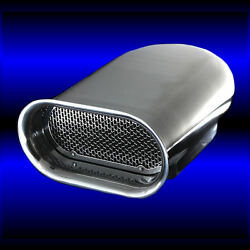 Polished Aluminum Hilborn Scoop Smooth Top Fits Big Block Chevy 396 427 454 Bbc