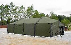 Military Eureka Mgpts Ty 1 18and039 X 36and039 Fire And Mildew Resistant M.p.g.p.t.s. Used
