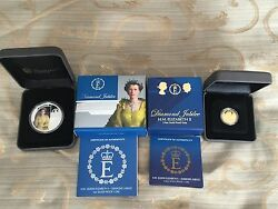 H.m. Queen Elizabeth Ii - Diamond Jubilee Gold And Silver Coin Set 2012