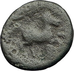 Pella In Macedonia 148bc Rare R1 Authentic Ancient Greek Coin Zeus And Bull I62606