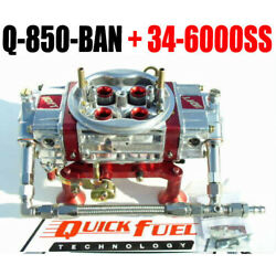 Quick Fuel Q-850-ban Mech Annular Gas Blow Through With 34-6000ss Line Kit