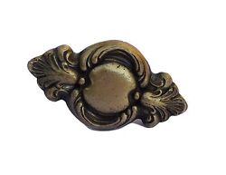 Antique French Brass Door Or Window Handle Knob Shabby Chic Hardware 19th.c
