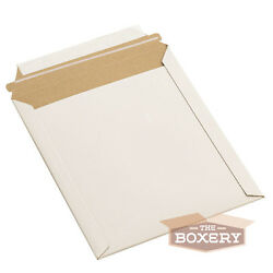 200 - 6x6and039and039 Rigid Flat Photo Mailers - Self-seal - White From The Boxery