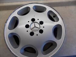 1994-1998 Mercedes Benz SL500 R129 Alloy Wheel CURB RASH*** Part # 124 401 14 02