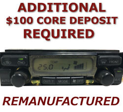 Reman 99-02 Toyota 4runner Ac Heater Climate Temperature Control Automatic Eatc