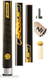 Predator Sport2 Playing Cue + Z-3 11.85mm Shaft - Sport Wrap + Jt. Caps And Case