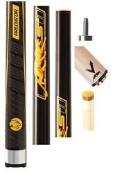 Predator Sport2 Playing Cue + Vantage 12.9mm Shaft- Sport Wrap + Jt. Caps And Case