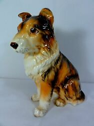 Lefton Detailed Large quot; Collie quot; Figurine Nice Display Piece