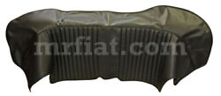 Fiat Dino 2000 2400 Black Leather Boot Cover New