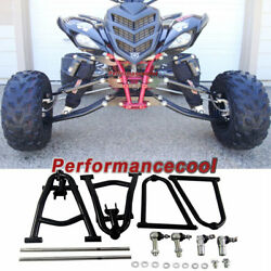 Front Upper And Lower A Arm Fit Yamaha Raptor 700 Yfm700 +2+1 Wider Extended A-arm