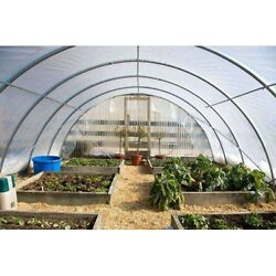 4 Year 6 Mil Clear Plastic Greenhouse Poly Film 20 Ft. Wide - Various Lengths