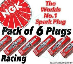 6x New Ngk Racing Spark Plugs - Part No. R7282a-105 Stock No 4614 6pk Sparkplugs