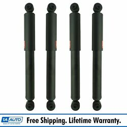 Kyb Excel-g Front And Rear Strut Shock Absorber Lh Rh Set Of 4 For Vw Beetle Bus