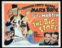 Marx Brothers The Big Store Title Card 1941